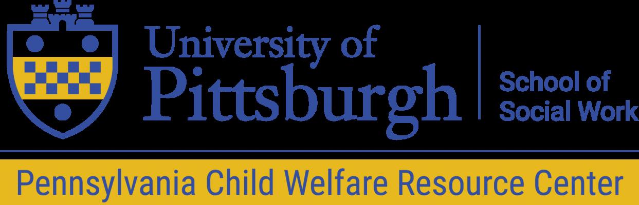 PA Child Welfare Resource Center, University of Pittsburgh Logo